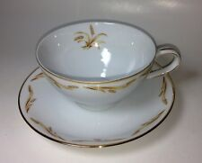 Abalone China Golden Grain Cup & Saucer - Made in Japan