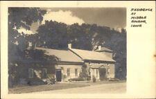 Middle Amana IA Home Real Photo Postcard