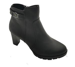 Tom Tailor High Heel Stiefelette 7991701 Damen Schuhe Women Shoes Schwarz