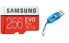 Samsung EVO Micro SD Memory Card 256GB 256 GB C10 for Samsung Galaxy A8+/A Bulk