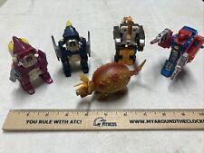 Vintage Transformers Lot of 5 - Tamagoras, Nosecone, Override, & 2 Sparkstalkers