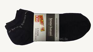 Herren Sneaker Socken Sport Sneaker Socken Bruno Banani 39-42 43-46 Brand Neu