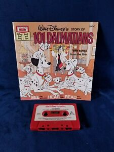 Vintage 1982 Walt Disney's 101 Dalmatians Read Along Book And Tape No.# 29 DC