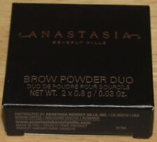 Anastasia Brow Powder Duo EBONY Full Size Eyebrow NEW IN BOX