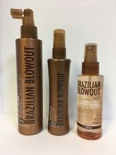 BRAZILIAN BLOWOUT THERMAL ROOT LIFT, DRY OIL, AND SPRAY SHINE - TRIO