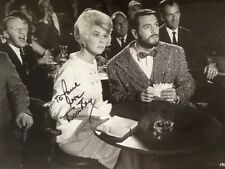 """Doris Day SIGNED Photo with Rock Hudson in """"Lover Come Back"""" 1962"""