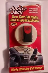 Jupiter Jack Turn Your Car Radio Into A Speakerphone Works With Any Cell Phone