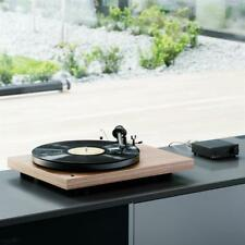 Pro-Ject Debut RecordMaster Turntable USB/Phono Stage and OM-5E in Walnut Finish