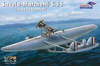 Savoia-Marchetti S.55  (torpedo bomber) << Dora Wings #72020, 1:72 scale