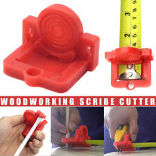 Cut Drywall Tools Guide Tape Measure Attachment For Woodworking Scribing Cutting