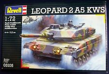 REVELL - 1/72 - 03105 - LEOPARD 2 A5 KWS - Modern Battle Tank - (1996)