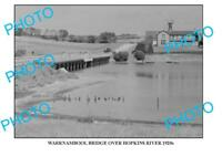 6 x 4 PHOTO OF OLD WARRNAMBOOL HOPKINS RIVER BRIDGE