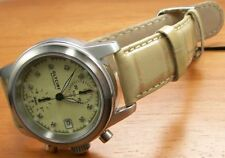 Glycine Ningaloo Reef Diamonds cronografo orologio automatico 3825.15d con data