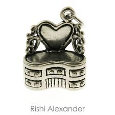 925 Sterling Silver Vanity Dresser Charm Made in USA