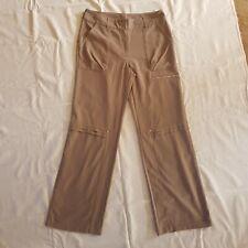 Adidas Size L Beige Lightweight Pants
