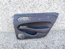 GNC 3028AE 98-03 JAGUAR XJ8 RIGHT REAR PASSENGER DOOR PANEL LEATHER BLACK #TOP2D