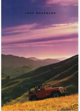 Jeep Wrangler 1991 Brochure & UK Price Sheet - NEW Condition American