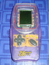 256 Games In 1 Purple Pocket Arcade  Electronic Handheld Travel Game  Awesome
