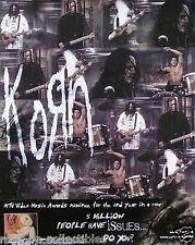 Korn 2000 Issues Original Promo Poster
