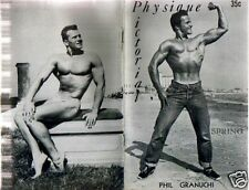 PHYSIQUE PICTORIAL MAGAZINE V,6N.1 1956 UNCIRCULATED ORIGINAL ISSUE