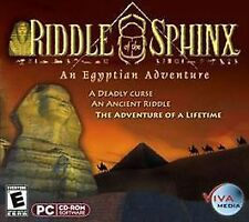 Riddle of the Sphinx: An Egyptian Adventure Jewel Case (PC, 2004)
