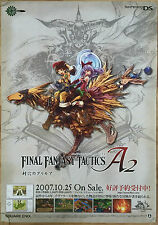 Final Fantasy Tactics A2 RARE NDS 51.5 cm x 73 cm Japanese Promo Poster #2
