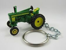 1956 1957 1958 John Deere JD 720 Farm Tractor Green Key FOB Keyring Keychain