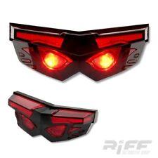 LED Rücklicht Maske mit Kennzeichenbeleuchtung 86x30x32MM universal Motorrad
