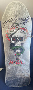Powell Peralta Mike McGill AUTOGRAPHED reissue skateboard deck