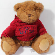 ASI Ross BROWN TEDDY BEAR WITH CORNELL MEDICAL TURTLENECK SWEATER Plush CUTE