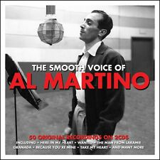 Al Martino THE SMOOTH VOICE OF Best Of 50 Original Recordings ESSENTIAL New 2 CD