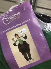 Ex Hire Fancy Dress Costumes - Fat Christmas Pudding Costume - One Size