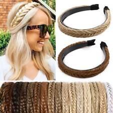Braid Women's Lady Braided Headband Hair Braids Hair Accessorie Hair Hoop Sport