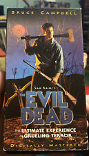 The Evil Dead (Vhs, 1998) Bruce Campbell Excellent Condition