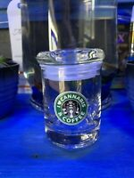 Cannabis And Coffee Glass Stash Jar Prescription Weed Smell Proof