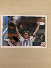 1994 Upper Deck World Cup USA '94 Oscar Ruggeri Argentina #231 MINT!!!