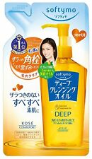 NEW KOSE COSMEPORT softymo Deep Cleansing Oil Refill 200ml  Japan