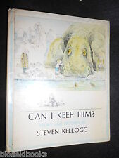 Can I Keep Him? - Stories and Pictures by Steven Kellogg - 1973-1st Childrens HB