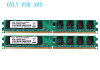 4GB 2X 2GB DDR2 PC2-6400 800MHz 240PIN DIMM Desktop Motherboard Memory RAM AMD