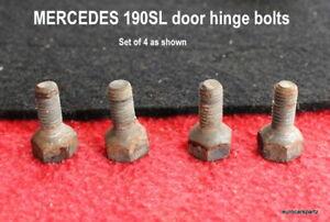 Mercedes-Benz 190SL w121 Door hinge mounting Screw  set of 4 121 723 00 71 oem