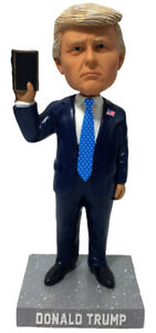 Donald Trump Bible Photo Op White House Limited Edition President Bobblehead