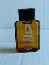Azzaro Mini Size Travel Pour Homme Men Eau de Toilette (Vintage) Unboxed