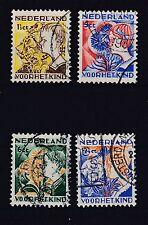 Niederlande 1932 gestempelt MiNr. 253-256  //1)