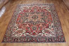 Traditional Vintage Wool Handmade Classic Oriental Area Rug Carpet 270 X 182cm