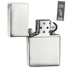Zippo 1935.25 brushed chrome Lighter + FLINT PACK