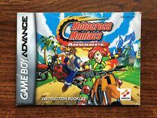 Motocross Maniacs Advance Gameboy Advance Instruction Manual Only