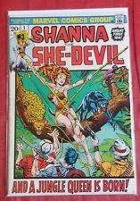 Marvel Comics Shanna The She-Devil #1 Key Issue