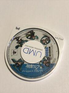 Hatsune Miku Project Diva 1 (Sony PSP) Japan import US Seller