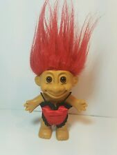 "Vintage 4"" Russ Troll Doll Red Lingerie"