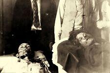 """1934 Post Mortem BONNIE & CLYDE Death Photo Bodies After Ambush LA 4""""x6"""" Reprint"""